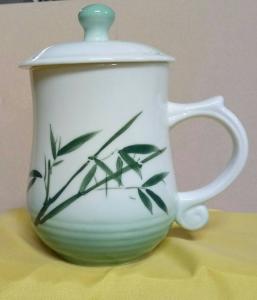 BQ06 彩繪杯 陶瓷杯彩繪杯子