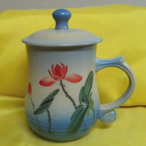 BQ08 彩繪杯 陶瓷杯彩繪杯子
