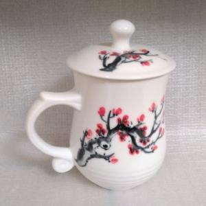 BQ10 彩繪杯 陶瓷杯彩繪杯子