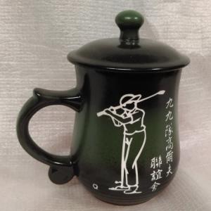 刻名字的杯子 G4018 雕刻高爾夫球圖