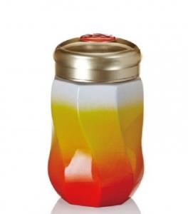 15-D1790 八方 隨身杯  小 / 單層 / 桔紅 / 340 ml