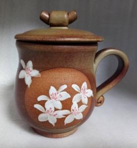 鶯歌茶杯 鶯歌陶瓷茶杯-HFK301 鶯歌手拉杯彩繪
