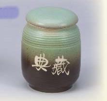 FK07 陶藝茶葉罐 4兩陶罐