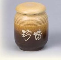 FK09 陶藝茶葉罐 4兩陶罐