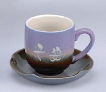 FC12 鶯歌陶瓷咖啡杯 杯盤組