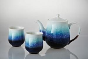 雪晶經典茶具組(一壺+六杯)