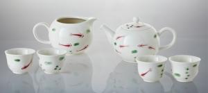 16-D5281 圓滿自在茶具組(一壺+六杯+茶海)