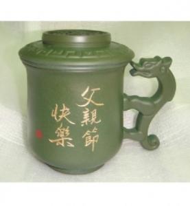 父親節禮物04  三件式 泡茶杯 龍杯